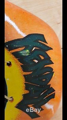 NOS Santa Cruz Jeff Kendall Atomic Man Vintage Skateboard Deck Atom Man
