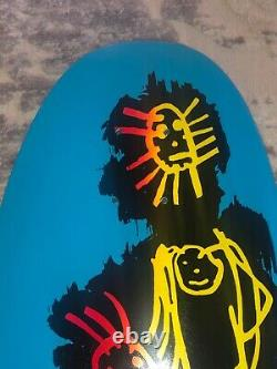 NOS Signed Lance Mountain Powell Peralta Family Skateboard Deck Autographed 80s