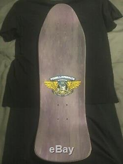 NOS Vintage 1989 Powell And Peralta Ray Barbee Skateboard Deck