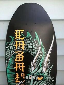 NOS Vintage 1989 Steve Caballero Powell Peralta Skateboard Deck Ban This Dragon