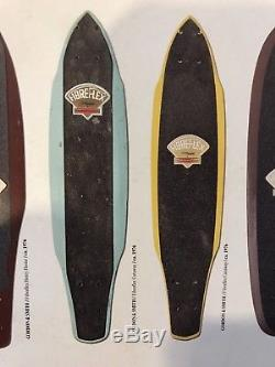 NOS Vintage Fibreflex Cutaway Skateboard Deck 1976 Original