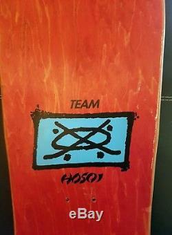 NOS Vintage Hosoi Picasso Skateboard Deck Santa Cruz 1989 OG Not Reissie
