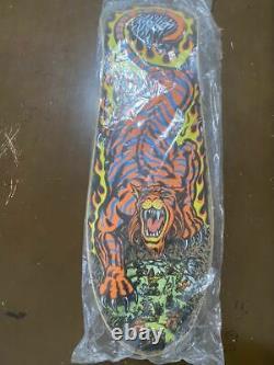 NOS Vintage OG SANTA CRUZ Salva Tiger Skateboard Deck Unused Jim phillips