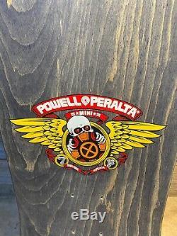 NOS Vintage Powell Peralta Tony Hawk Medallion skateboard deck 1990
