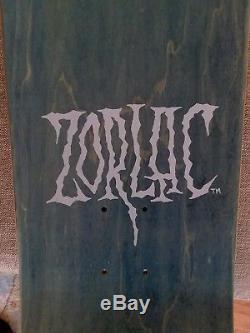 NOS Vintage Zorlac Metallica Skateboard Deck Pushead Pirate
