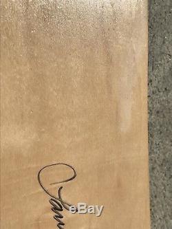 NOS vintage 90'S Powell Peralta Lance Mountain skateboard deck Signed
