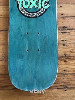 NOS vintage Denny Riordon people In My Head Freestyle Toxic Skateboard Deck