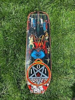 Natas Kaupas 101 Devil Worship Skateboard deck 101