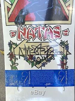 Natas Kaupas OG Panther SMA Designarium Limited Ed Skateboard Deck #490 Signed