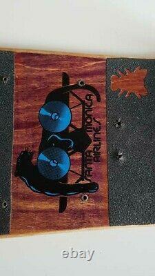 Natas Kaupas Panther 3 Original Vintage 1988 Santa Cruz SMA Skateboard