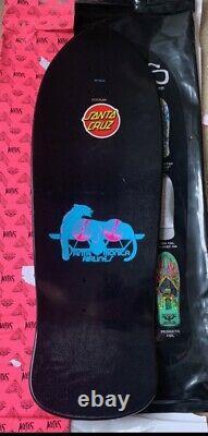 Natas Kaupas Santa Cruz Blind Bag Skateboard Deck Custom Prismatic