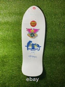 Natas Kaupas Santa Cruz blind bag skateboard deck 6/50 HAND PAINTED SIGNED