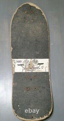 Natas Kaupas Skateboard Deck Santa Monica Airlines Black Panther Vintage Rare