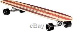 New 43 Inch Compete Maple Drop Deck Wheels Downhill Cruiser skateboard Longboard