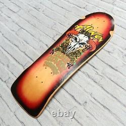 New Alva Skateboards John Gibson Deck Skate Reissue Natural Vtg