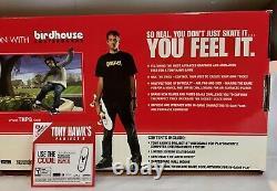 New Complete Tony Hawk Project 8 Birdhouse Skateboard Deck Playstation 2 Coa
