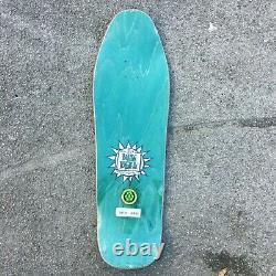 New Deal Skateboards Templeton Crowd Ht Deck Green Stain Reissue 10.125'' New