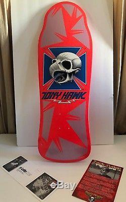 New Powell Peralta Tony Hawk Classic Bones Brigade Reissue Deck
