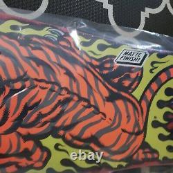 New Santa Cruz SALBA Tiger Skateboard Deck Reissue Steve Alba 10.3in x 31.1in