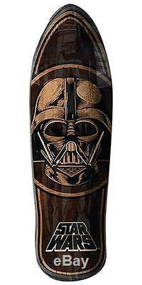 New Santa Cruz Star Wars Vader Inlay Collectible Skateboard Deck 31in x 10.35in