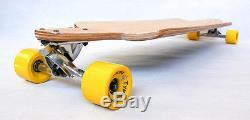 New longboard complete drop down Through THRU cruiser downhill skateboard W deck