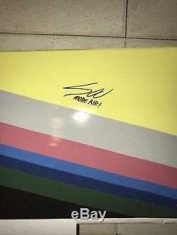 Nike Sean Wotherspoon 1/97 Air Max Deck SUPER RARE SIGNED 1 Of 4 Air Max Day