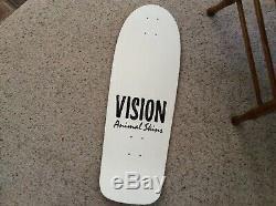 Nos 1984 VISION Animal Skins Skateboard Deck rare original