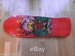 Nos Alva Fred Smith Punk Size Skateboard Deck New