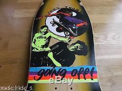 Nos Alva John Thomas Going Off Skateboard Deck New