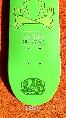 Nos vintage Alien Workshop Rob Dyrdek skateboard deck