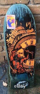 OG Vintage Claus Grabke HBT Santa Cruz Skateboard