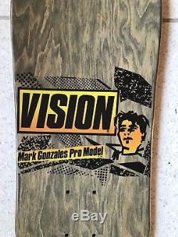 OG Vintage NOS Mark Gonzales Skateboard Deck Vision