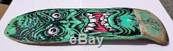 ORIGINAL Santa Cruz Rob Roskopp Face Vintage Skateboard RARE COLOR Target