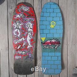 Og 1987 Vision Mark Gonzales Color My Friends Skateboard Deck. Santa Cruz, Gonz
