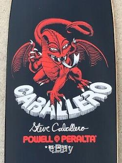 Old School 2007 Powell Peralta Steve Caballero Reissue Skateboard Deck Pig