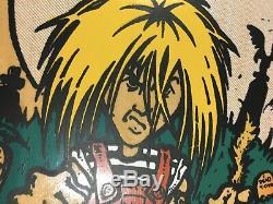 Old School Skateboard Deck Alva Fred Smith Punk Size ORIGINAL Vintage 80s