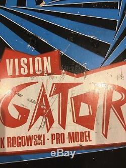 Old School Skateboard Vision Gator ORIGINAL Vintage 80s