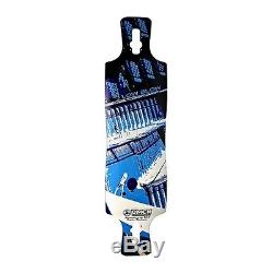 Omen Low Blow Longboard Deck Blue 41x9.75