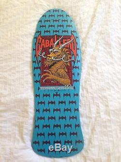 Original 1980's Powell Peralta Steve Caballero dragon & Bats deck. NO Reserve