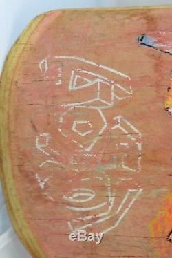 Original 1989 Christian Hosoi Picasso Vintage Skateboard Deck Santa Cruz