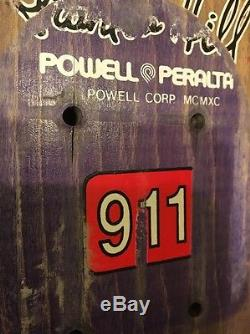 Original Frankie Hill Bull Dog Powell Peralta Vintage Old School Skateboard Deck