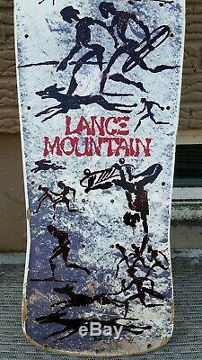 Original Powell Peralta Lance Mountain Future Primitive Skateboard Deck