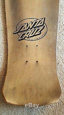 Original Santa Cruz Steve Alba Voodoo deck