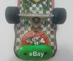 Original, Vintage BONES Powell Peralta 1980s Team Bug Skateboard Deck