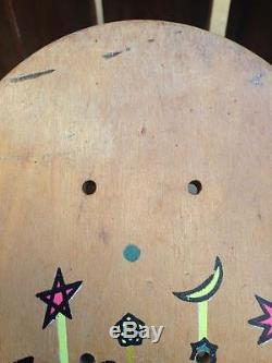 Original Vintage Salba Santa Cruz Witch Doctor Skateboard Deck Great Condition