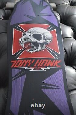 POWELL PERALTA Bones Brigade Tony Hawk CHICKEN SKULL BOTTLENOSE DECK