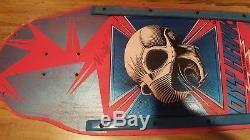 POWELL PERALTA Chicken Skull skateboard deck with rails TONY HAWK 1983 Used #648