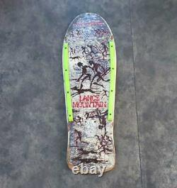 POWELL PERALTA Lance Mountain Vintage 1985' SkateBoard Deck Rare 80's F/S