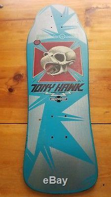 POWELL PERALTA Tony Hawk Skull Skateboard Deck Bones Brigade 1983