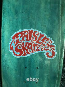 Paisley Skates Serial Party Sean Cliver Skateboard Deck Neon version Strangelove